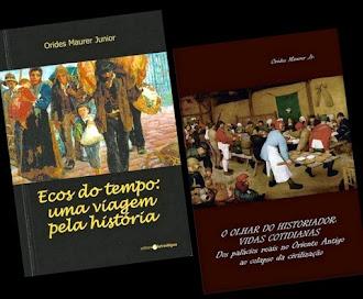 Livros do historiador Orides Maurer Jr.