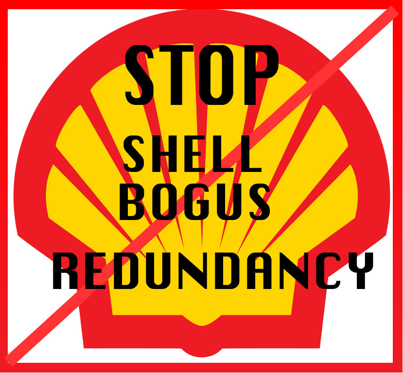 NO REDUNDANCY IN SHELL
