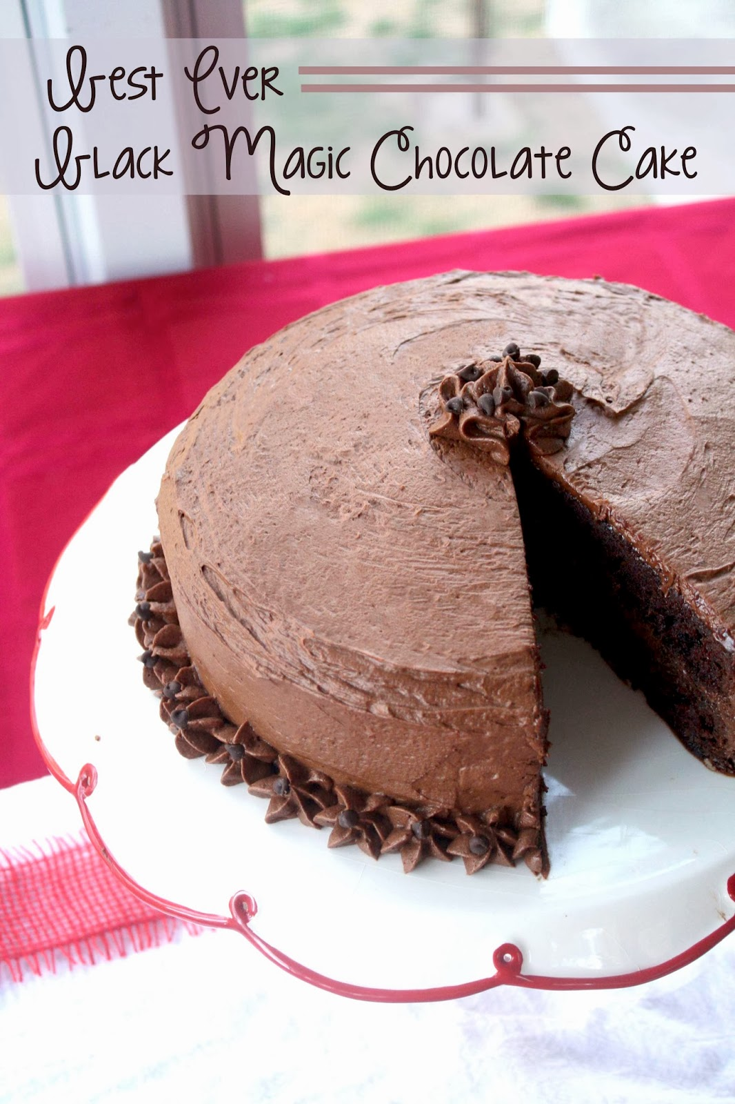 Chocolate Therapy: Rich Chocolate Cake with Whipped Chocolate Frosting