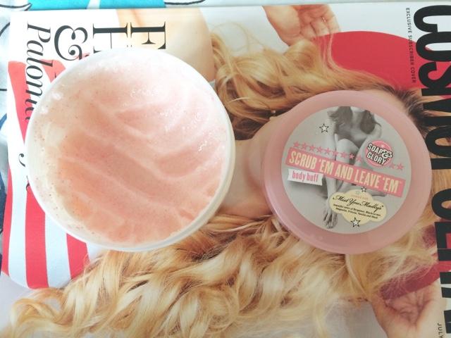 Lush Ultrabland Soap and Glory scrub favourites