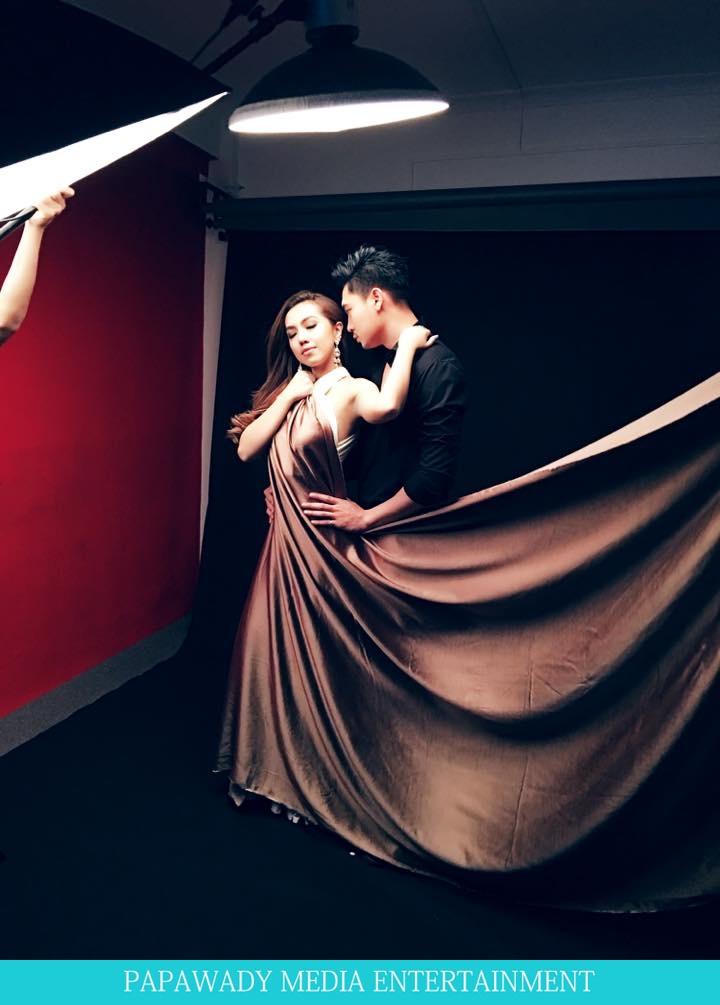 Warso Moe Oo and Tun Ko Ko  For Valentine's Day Photoshoot