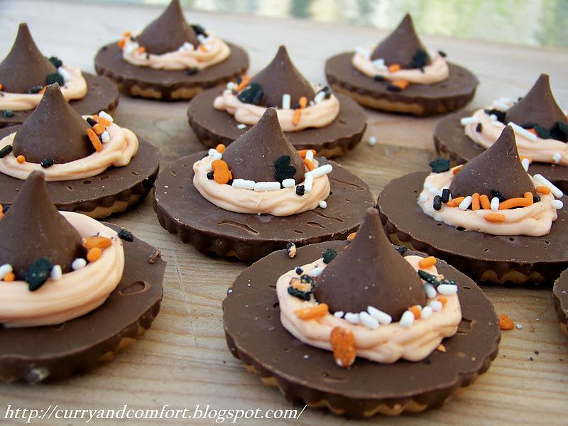 Kitchen Simmer: Halloween Witch's Hat Cookies