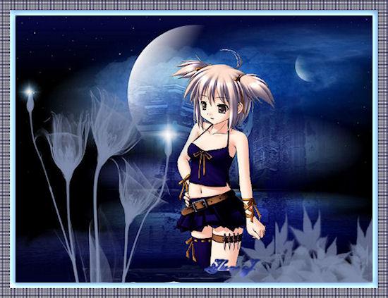 fantasía en la noche