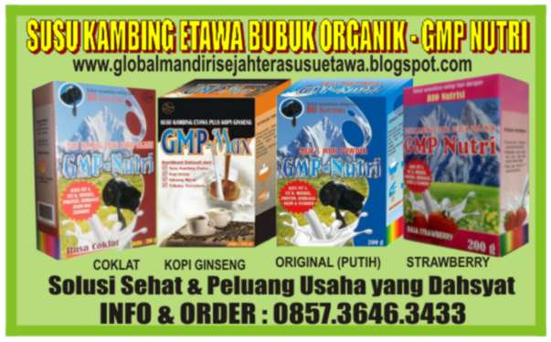GMP Nutri - Susu Kambing Etawa Bubuk