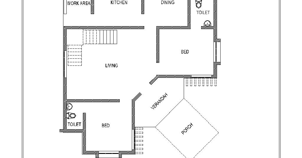 House Plan Suitable For Small Plots Small House Plan
