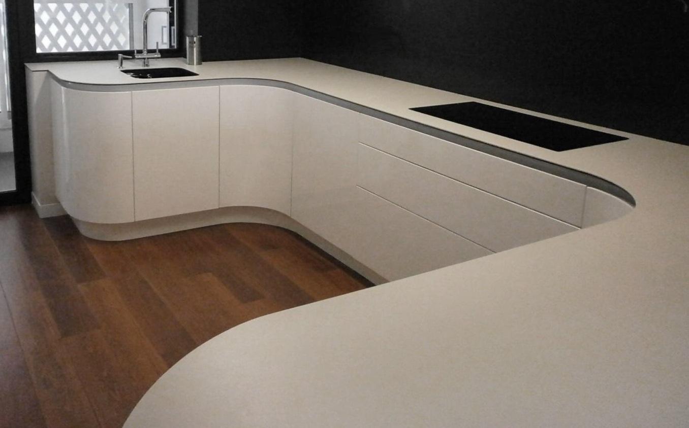 Exquisita sencillez cocinas con estilo - Puerta abatible cocina ...