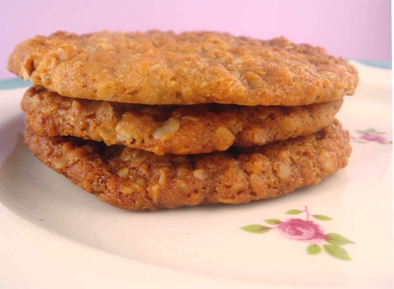 butter hearts sugar: Anzac Biscuits