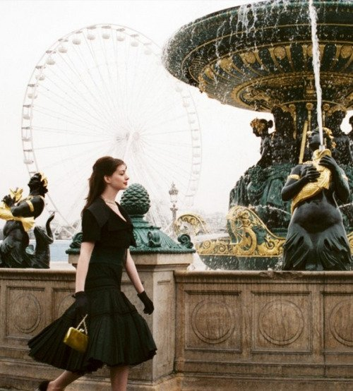 When Fashion Met Film: The Inspiration: Anne Hathaway In
