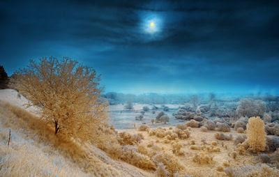 Atardecer más allá de las praderas - Sunset