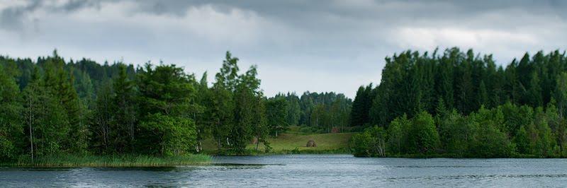 Kavadi järv Uue-Saaluses, lake Kavadi