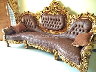 Sofa Tamu Mewah Royal Calista