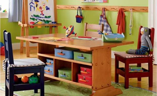 Schoolhouse playroom by the land of nod modern interior Land of nod playroom ideas