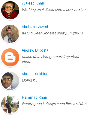 Recent Comments Widget with Avatars for Blogger