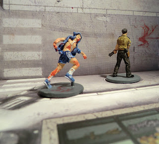 Zombicide Painted Zombie Runner Ipod Phil the cop