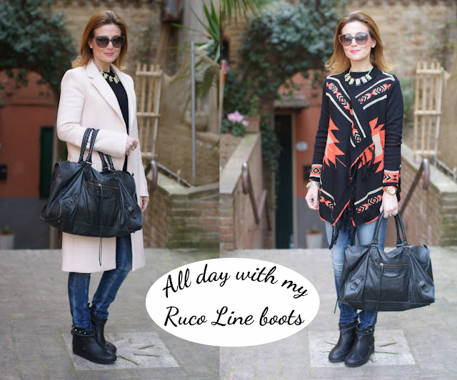 Ruco Line boots, Ariel boots, Fashion and Cookies, fashion blogger