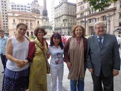Guerreiros da Paz! Natalia Pereira, Rute Cardoso, Keiko Ota, Vera L. Marcondes e Dr. Gilberto Natal