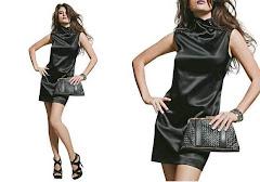 Pretinho Básico -O bom vestido preto é sempre elegante e ainda emagrece.