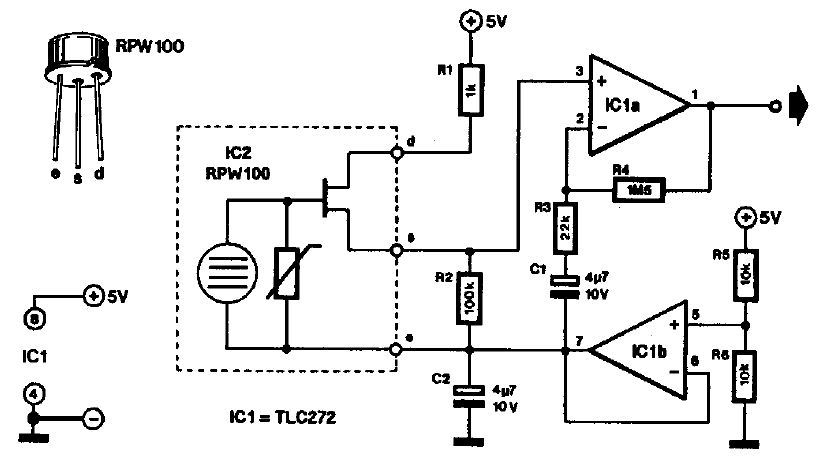 electronic circuits for beginners  thermal operated