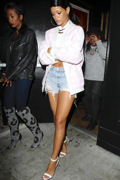 Everyday Like This Celeb Style Rihanna In Aussie Label Dion Lee At Drake 39 S After Party