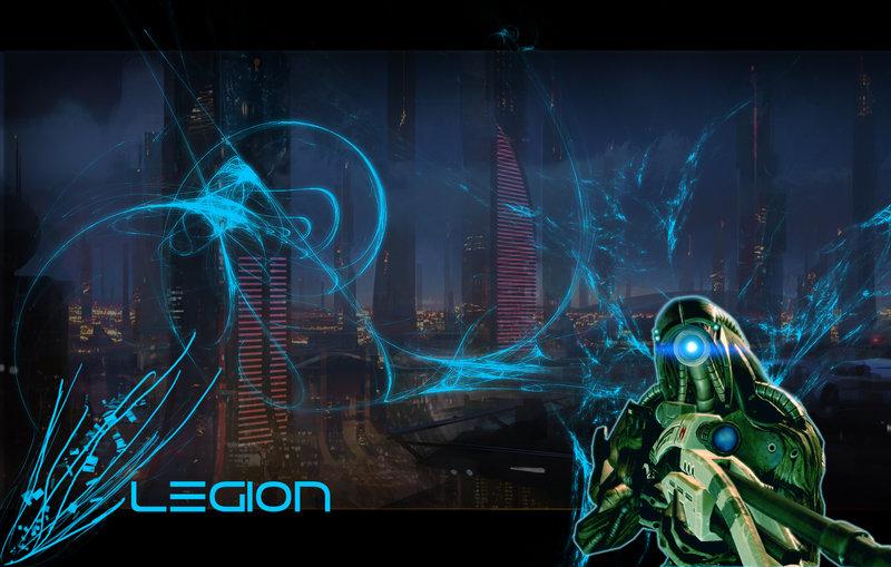 gallery for mass effect legion wallpaper