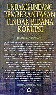 Kitab Undang-Undang Pemberantasan Tindak Pidana Korupsi