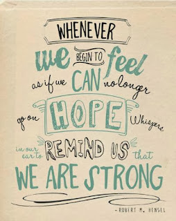 CIBC Run for the Cure - We are strong quote