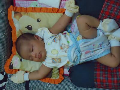 Foto Bayi Lucu Alvino Gavin P