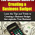 The Ultimate Guide to Creating a Business Budget - Free Kindle Non-Fiction