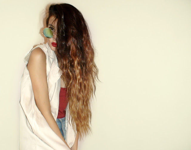 diy ombre hair from black