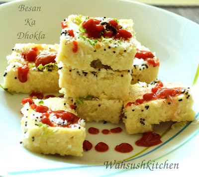 Besan ka Dhokla Recipe in microwave