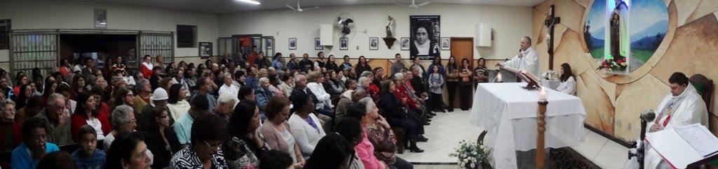 Missa em Ação de Graças pelos 14 anos de ordenação de Padre Leonardo e Padre Willian