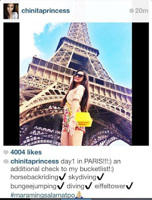 Spotted: Kim Chiu and Xian Lim in Paris