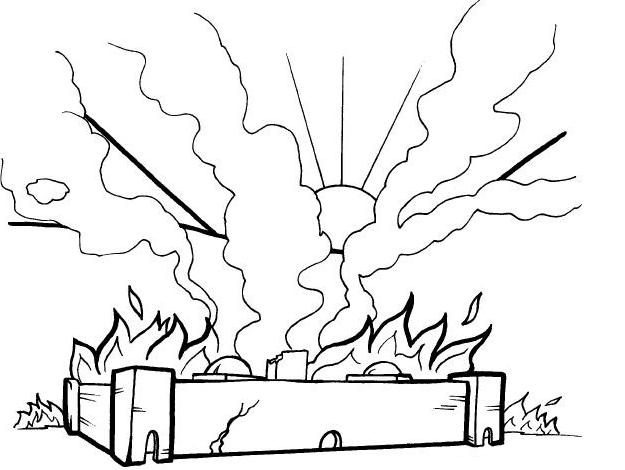 Lección 7: Destruccion de Sodoma y Gomorra | Historias Biblicas Para ...