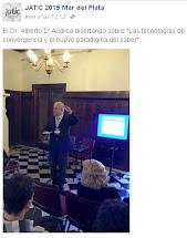 JORNADA ARGENTINA DE TECNOLOGÍA, INNOVACIÓN Y CRRATIVIDAD. JATIC 2015. MAR DEL PLATA.