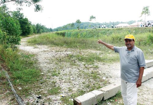 SK Taman Desaminium Tidak Mempunyai Jalan Masuk