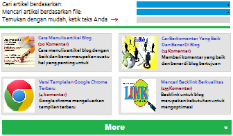 Gambar daftar isi blogger