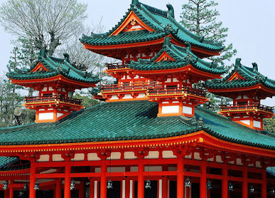 Heian Shrine, Japan