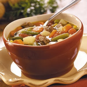 Crockpot Vegetable Soup Recipe