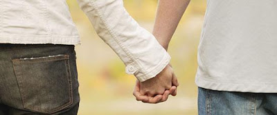 Learning To Trust Again After A Breakup - two lovers holding hands
