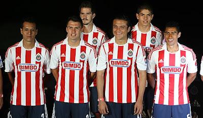 El Jersey de las Chivas Liga MX