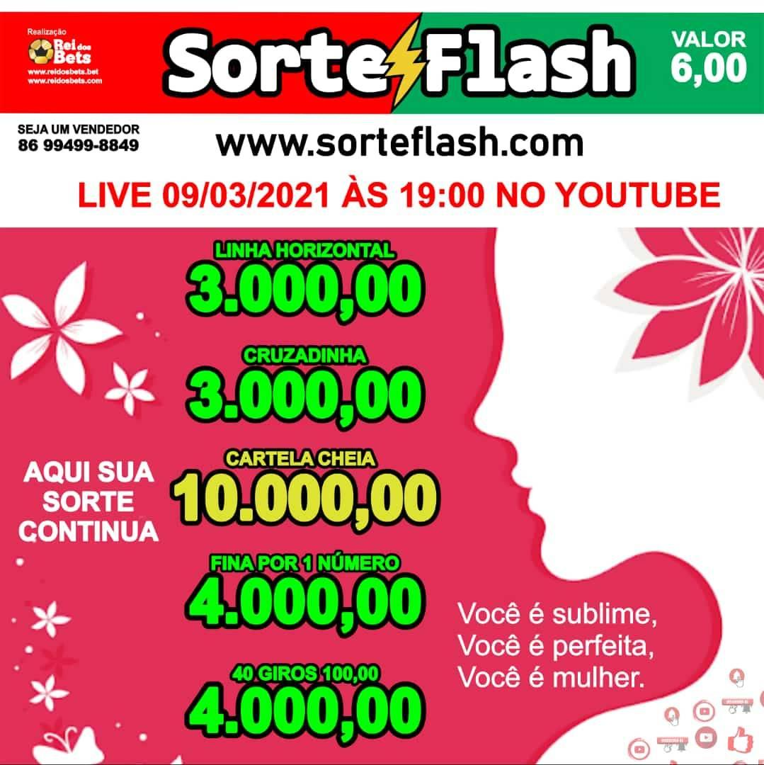 SorteFlash.com   Aqui  Sua  Sorte  Continua