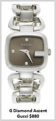 Sydney Fashion Hunter - Timeless Timepieces - Gucci G Diamond Accent Watch
