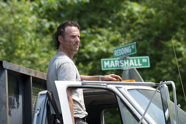 Andrew Lincoln como Rick Grimes – The Walking Dead _ sexta temporada, Episode 1 – Photo Credit: Gene Page/AMC
