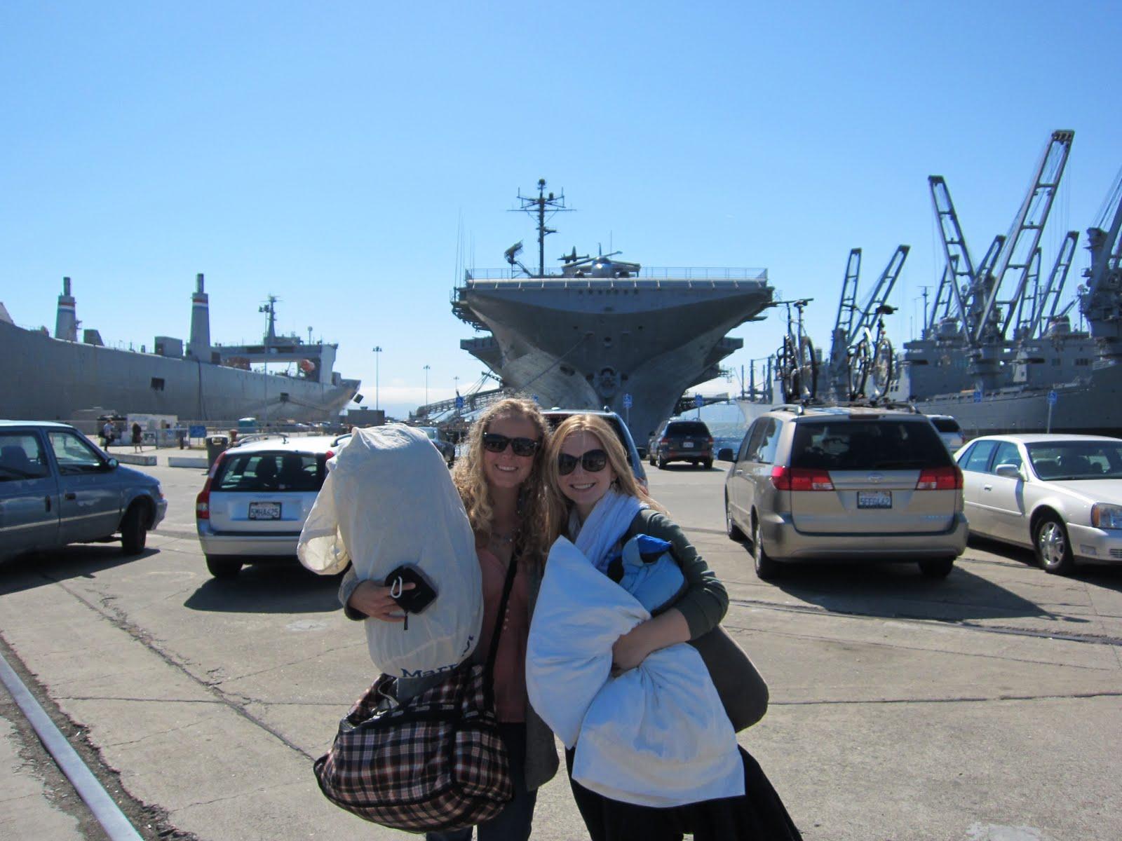 Weekends So Sweet: Getaway to an Aircraft Carrier!