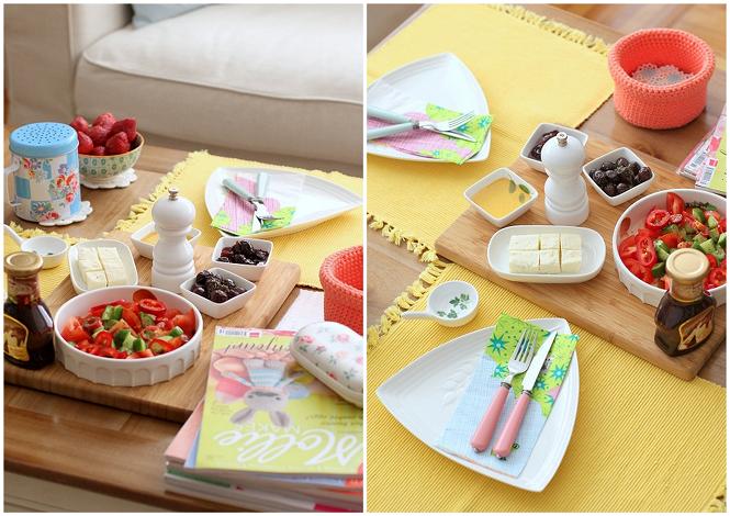 Haftasonu Kartı - Kahvaltı / Happy Weekend Card - Breakfast