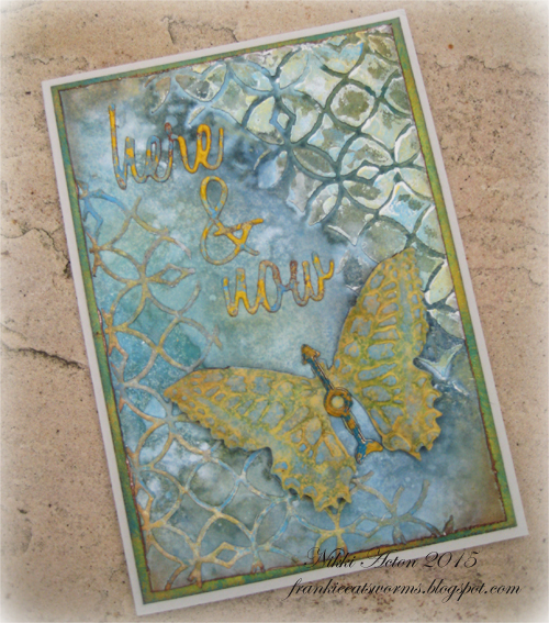 Addicted to Art - Tim Holtz Butterfly Duo, Tim Holtz Mixed Media
