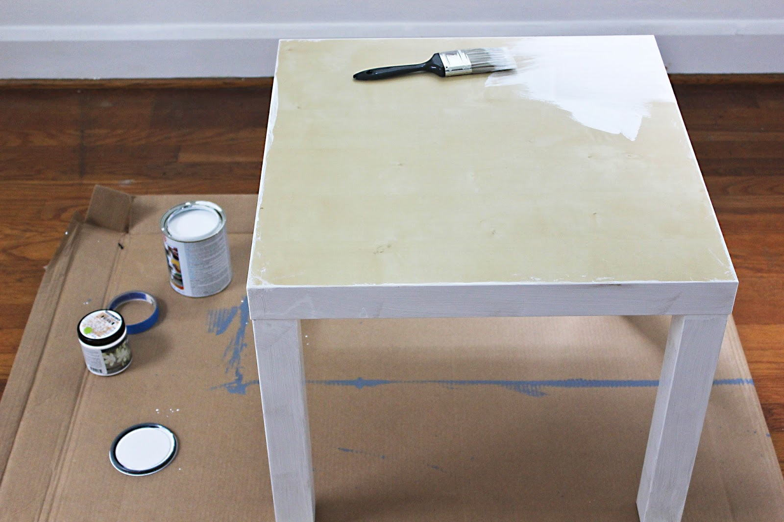 How To: Paint Ikea Furniture