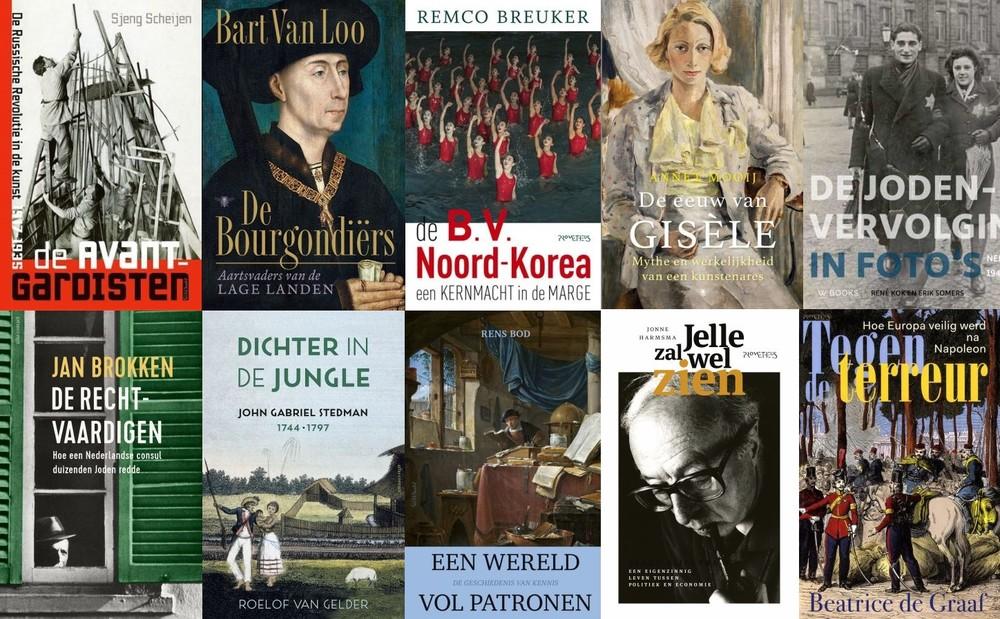Longlist Libris geschiedenis 2019
