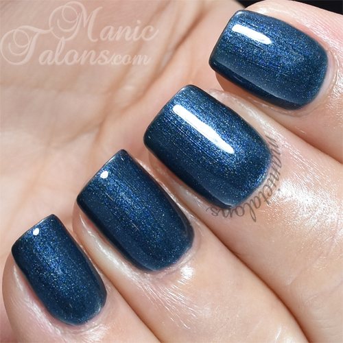 Pink Gellac Marvelous Blue Swatch