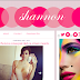 Shannon Pink Blogger Template